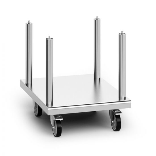 Opus 800 Free-standing Floor Stand With Castors - For Synergy Grill W 600 Mm LIN OA8991-C