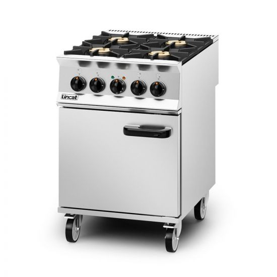 Opus 800 Dual Fuel [Propane Gas] Free-standing Oven Range - 4 Burners - W 600 Mm - 26.8 KW LIN OD8006-P