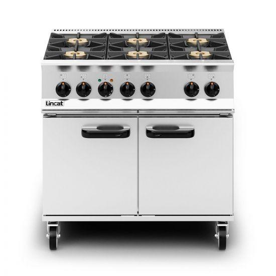 Opus 800 Dual Fuel [Propane Gas] Free-standing Oven Range - 6 Burners - W 900 Mm - 40.2 KW LIN OD8007-P