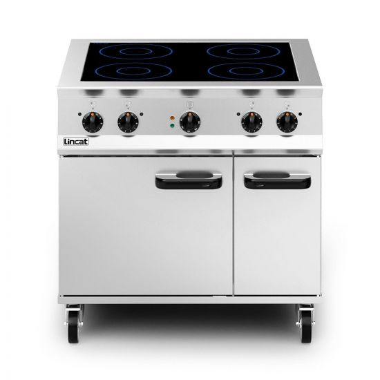 Opus 800 Electric Free-standing Induction Oven Range - W 900 Mm - 24.0 KW LIN OE8017
