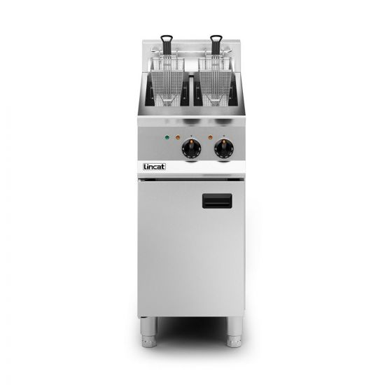 Opus 800 Electric Free-standing Twin Tank Fryer - 2 Baskets - W 400 Mm - 14.0 KW LIN OE8105