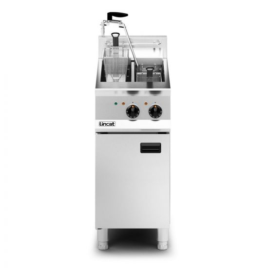 Opus 800 Electric Free-standing Twin Tank Fryer With Pumped Filtration - 2 Baskets - W 400 Mm - 14.0 KW LIN OE8105-OP