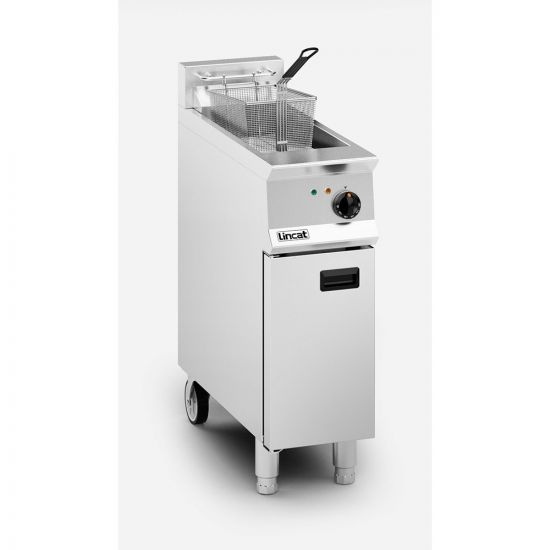 Opus 800 Electric Free-standing Single Tank Fryer - 1 Basket - W 300 Mm - 12.0 KW LIN OE8112