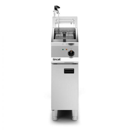 Opus 800 Electric Free-standing Single Tank Fryer With Pumped Filtration - 1 Basket - W 300 Mm - 12.0 KW LIN OE8112-OP
