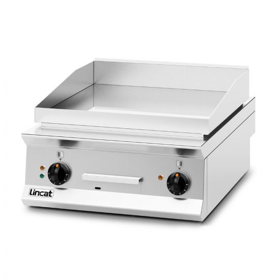Opus 800 Electric Counter-top Griddle - Chrome Plate - W 600 Mm - 8.0 KW LIN OE8205-C