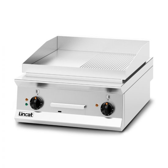Opus 800 Electric Counter-top Griddle - Ribbed Plate - W 600 Mm - 8.0 KW LIN OE8205-R