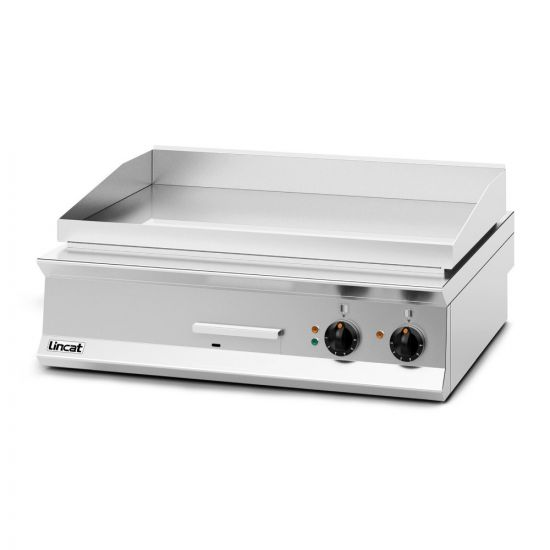 Opus 800 Electric Counter-top Griddle - Chrome Plate - W 900 Mm - 12.0 KW LIN OE8206-C
