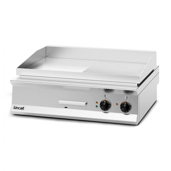 Opus 800 Electric Counter-top Griddle - Ribbed Plate - W 900 Mm - 12.0 KW LIN OE8206-R