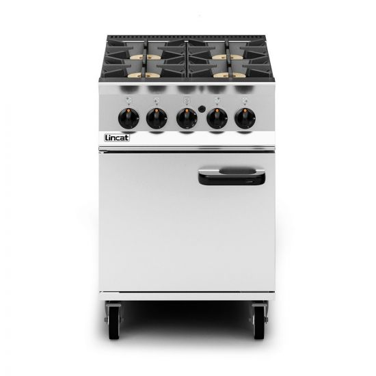 Opus 800 Propane Gas Free-standing Oven Range - 4 Burners - W 600 Mm - 33.6 KW LIN OG8001-P