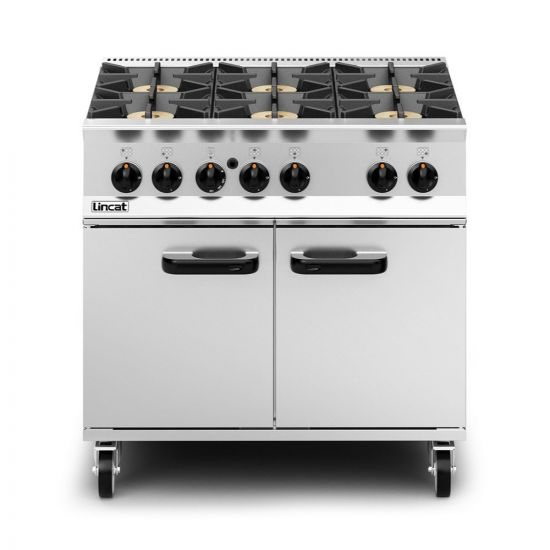 Opus 800 Propane Gas Free-standing Oven Range - 6 Burners - W 900 Mm - 50.5 KW LIN OG8002-P