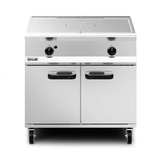 Opus 800 Natural Gas Free-standing Solid Top Oven Range - W 900 Mm - 18.5 KW LIN OG8005-N
