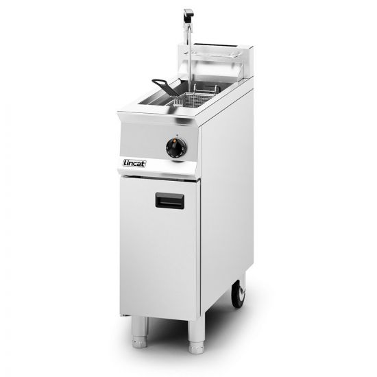Opus 800 Propane Gas Free-standing Single Tank Fryer With Pumped Filtration - 1 Basket - W 300 Mm - 16.0 KW LIN OG8110-OP-P