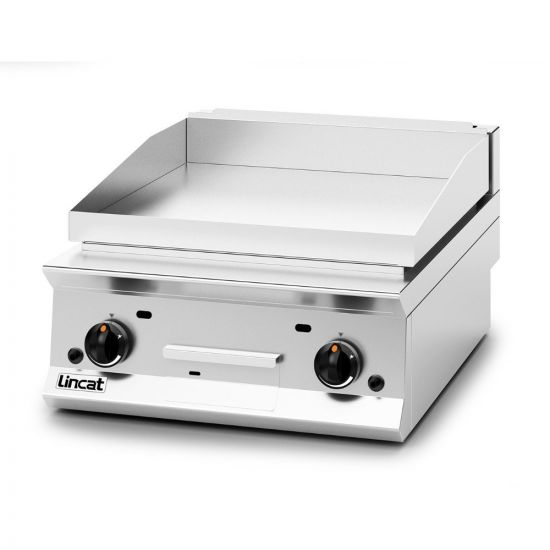 Opus 800 Natural Gas Counter-top Griddle - W 600 Mm - 15.5 KW LIN OG8201-N