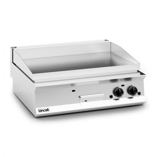 Opus 800 Natural Gas Counter-top Griddle - Chrome Plate - W 900 Mm - 23.0 KW LIN OG8202-C-N