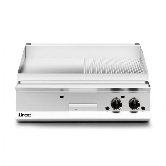 Opus 800 Natural Gas Counter-top Griddle - Ribbed Plate - W 900 Mm - 23.0 KW LIN OG8202-R-N