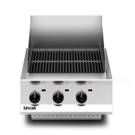 Opus 800 Propane Gas Counter-top Chargrill - W 600 Mm - 12.6 KW LIN OG8401-P