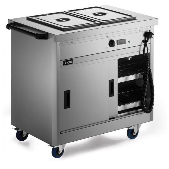 Panther 670 Series Free-standing Hot Cupboard - Bain Marie Top - 2GN - W 980 Mm - 2.6 KW LIN P6B2