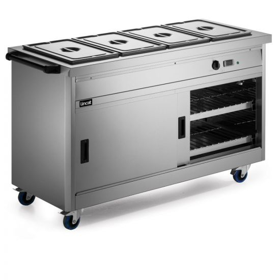 Panther 670 Series Free-standing Hot Cupboard - Bain Marie Top - 4GN - W 1530 Mm - 4.9 KW LIN P6B4