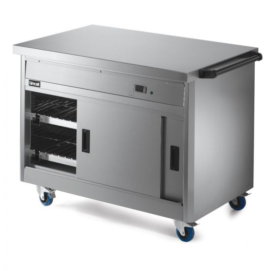 Panther 800 Series Free-standing Hot Cupboard - Plain Top - W 1205 Mm - 1.5 KW LIN P8P3PT