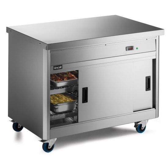 Panther 800 Series Free-standing Hot Cupboard - Plain Top - W 1205 Mm - 1.5 KW LIN P8P3