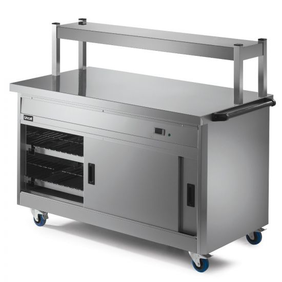 Panther 800 Series Free-standing Hot Cupboard - Plain Top - W 1530 Mm - 2.5 KW LIN P8P4PT