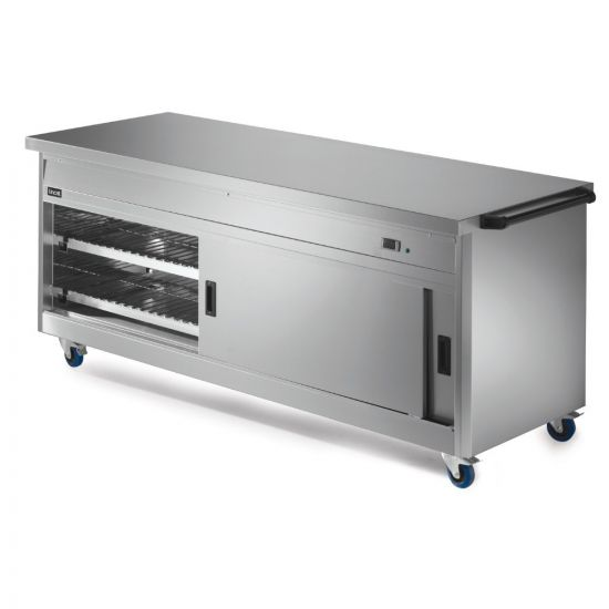 Panther 800 Series Free-standing Hot Cupboard - Plain Top - W 2180 Mm - 2.5 KW LIN P8P6PT