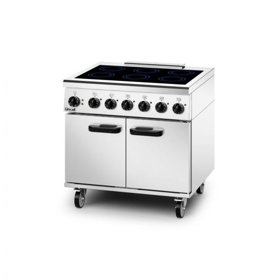 Phoenix Electric Free-standing Induction Oven Range - W 900 Mm - 13.0 KW [1-Phase] LIN PHER01-SPH