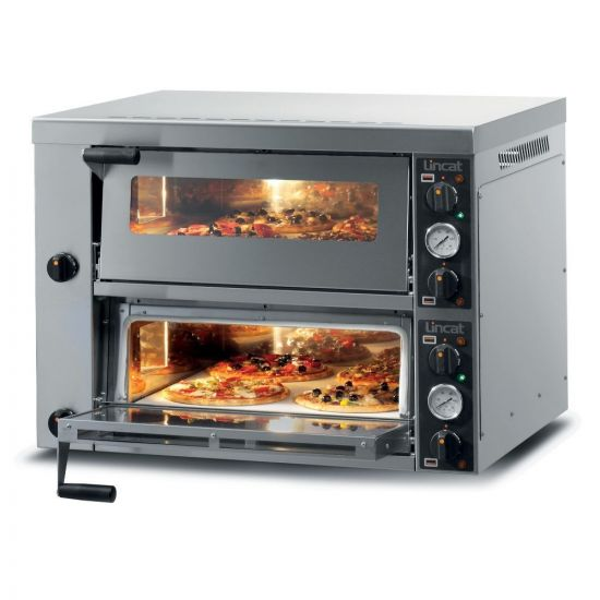 Lincat Electric Counter-top Pizza Oven - Twin-Deck - W 886 Mm - 6.0 KW LIN PO425-2