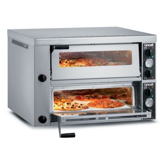 Lincat Electric Counter-top Pizza Oven - Twin-Deck - W 966 Mm - 8.4 KW LIN PO430-2