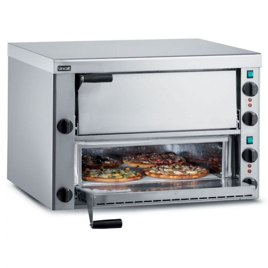 Lincat Electric Counter-top Pizza Oven - Twin-Deck - W 810 Mm - 5.7 KW LIN PO89X