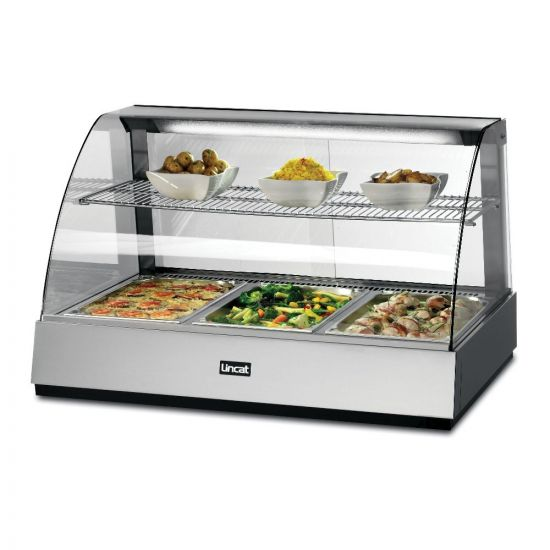 Seal Counter-top Heated Food Display Showcase - W 1085 Mm - 2.05 KW LIN SCH1085