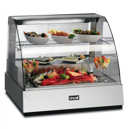Seal Counter-top Refrigerated Food Display Showcase - W 785 Mm - 0.602 KW LIN SCR785