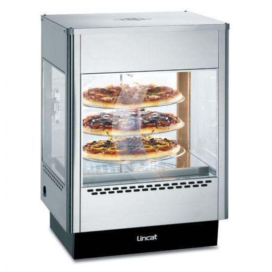 Seal Counter-top Upright Heated Merchandiser - Rotating Rack - Single Door - W 562 Mm - 1.4 KW LIN UM50
