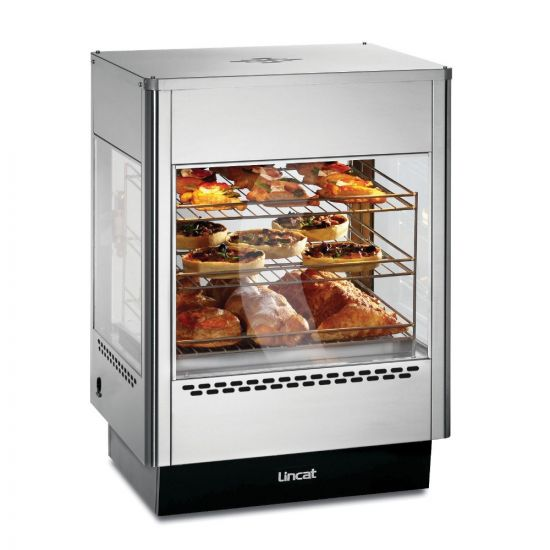 Seal Counter-top Upright Heated Merchandiser - Static Rack - Two Doors - W 562 Mm - 1.4 KW LIN UMS50D