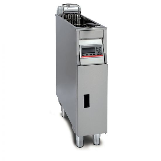 FriFri Vision 211 Electric Free-standing Single Tank Fryer - 1 Basket - W 200 Mm - 11.0 KW LIN VF21102-A500