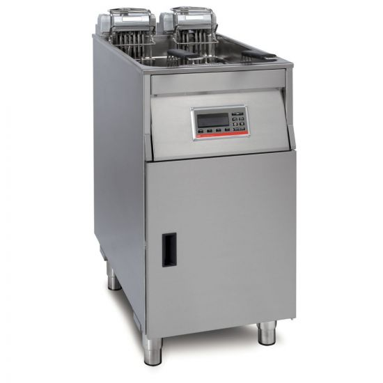 FriFri Vision 411 Electric Free-standing Single Tank Fryer - 2 Baskets - W 400 Mm - 22.0 KW LIN VF41102-B500