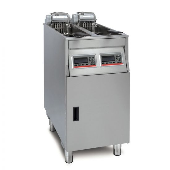FriFri Vision 422 Electric Free-standing Twin Tank Fryer - 2 Baskets - W 400 Mm - 2 X 11.0 KW LIN VF42202-G500