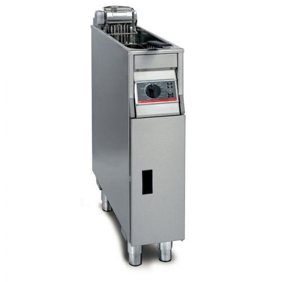 FriFri Basic+ 211 Electric Free-standing Single Tank Fryer - 1 Basket - W 200 Mm - 7.5 KW LIN YF21100-A500