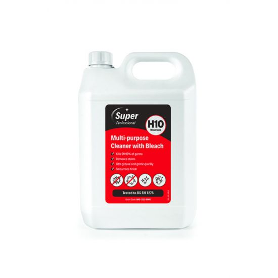 5L MULTI-PURPOSE CLEANER WITH BLEACH MIR 800-222-0001