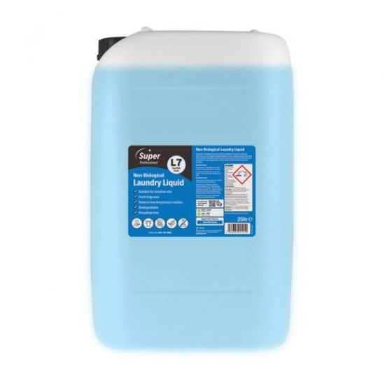 25L NON BIOLOGICAL LAUNDRY LIQUID MIR 800-244-0880