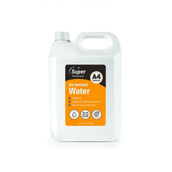 5L DE-IONISED WATER MIR 800-272-0008