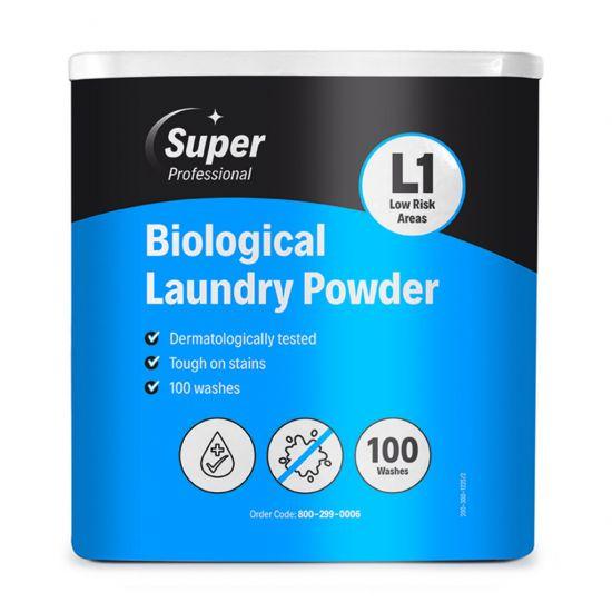BIOLOGICAL LAUNDRY POWDER 100 WASH BOX MIR 800-299-0006