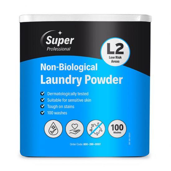 NON BIOLOGICAL LAUNDRY POWDER 100 WASH BOX MIR 800-299-0007