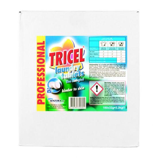 TRICEL NON BIO LAUNDRY TABLETS 100X32GM MIR 800-300-7945
