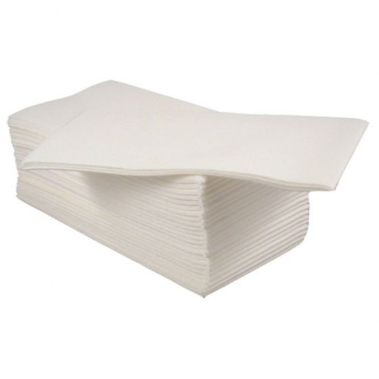 White (40x40cm) - 8 Fold (SPD596/8F) Combinations Airlaid Pack Of 500 (10x50) POP 4048WHCOM
