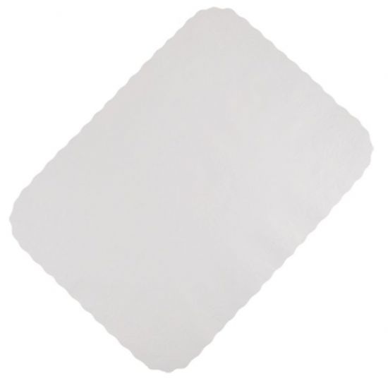 14 x 19 Inch White Tray Paper Tray Paper Pack of 1000 (4x250) POP SPD190