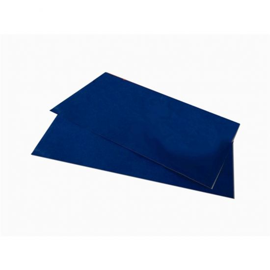 90 X 90cm Navy Blue - Folded (SPD387) Paper Table Covers Pack Of 250 (10x25) POP TCP906NB