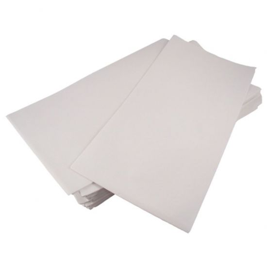 90 X 90cm White - Folded Paper Table Covers Pack Of 250 (10x25) POP TCP906WH