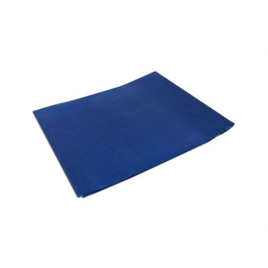 90 X 90cm Navy Blue (SPD584) Tabsilk Wipeable Table Covers Pack Of 100 (5x20) POP TCS905NB