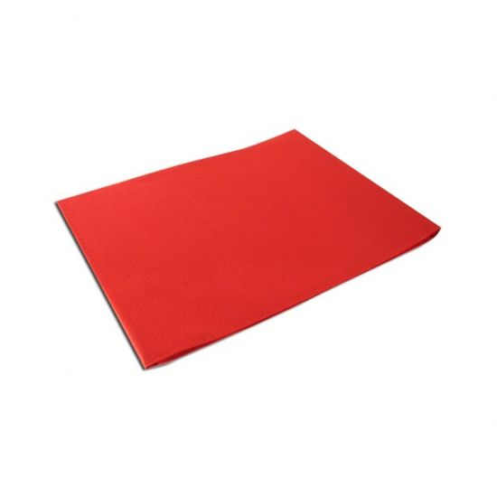 90 X 90cm Red (SPD583) Tabsilk Wipeable Table Covers Pack Of 100 (5x20) POP TCS905RD